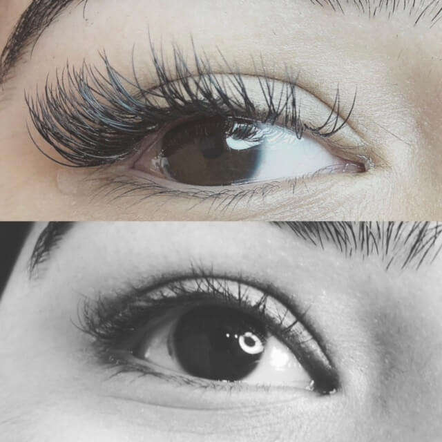 Lash Extensions And Eyebrow Tinting Glam India Threading And Spa