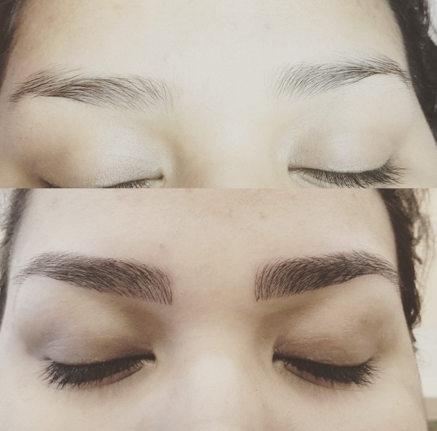 Microblading In Arlington Bedford Glam India Threading And Spa